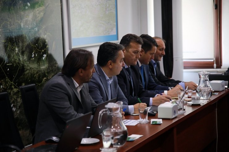 Başkan Toçoğlu, SASKİ daire başkan ve şube müdürleriyle buluştu