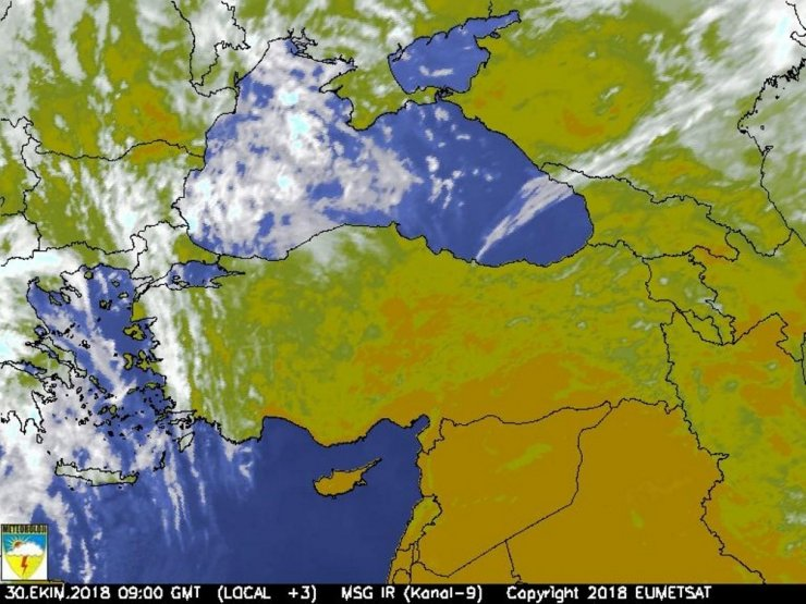 Karadeniz'de Kuzey Afrika sıcakları