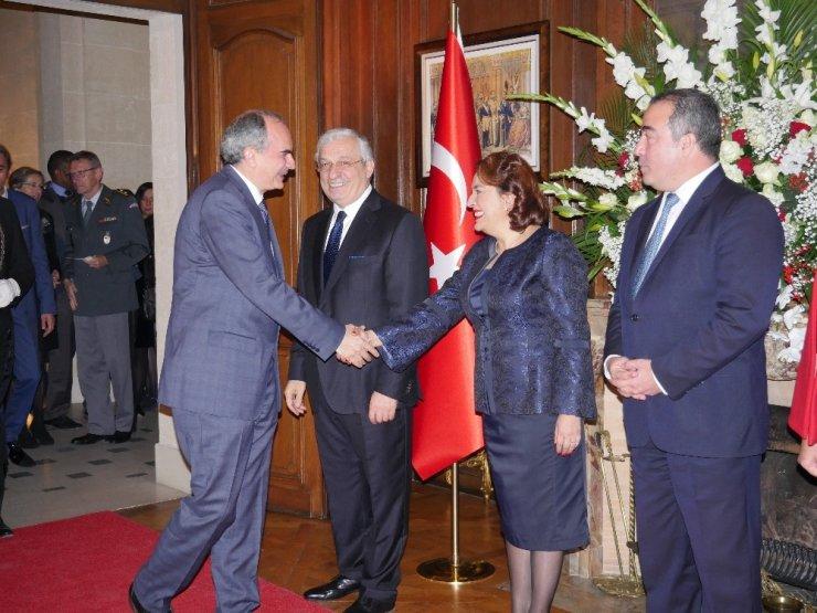 Paris Büyükelçiliğinde Cumhuriyet resepsiyonu