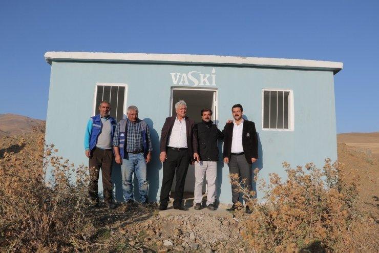 İran sınırında içme suyu sevinci