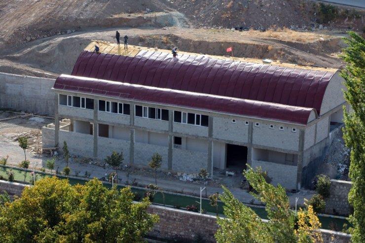 Kadışehri'nde sosyal yaşam alanı çalışmaları sürüyor