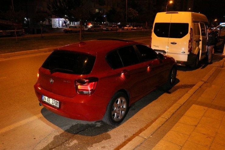 Acemi hırsız çaldığı otomobili stop ettirince yakalandı
