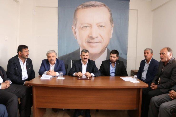 """Başkan Altınsoy: """"İlçelerimiz yerel seçimlere hazır"""""""
