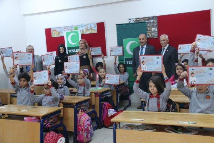 Kütahya'da 'Benim kulübüm Yeşilay' projesi