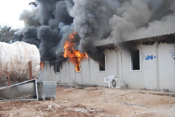 Çanakkale'de korkutan yangın