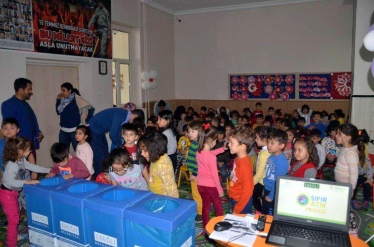 """Ereğli'de """"Sıfır Atık Projesi"""" semineri düzenlendi"""
