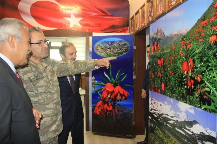 Tuğgeneral Tokel'den Başkan Vekili Epcim'e ziyaret