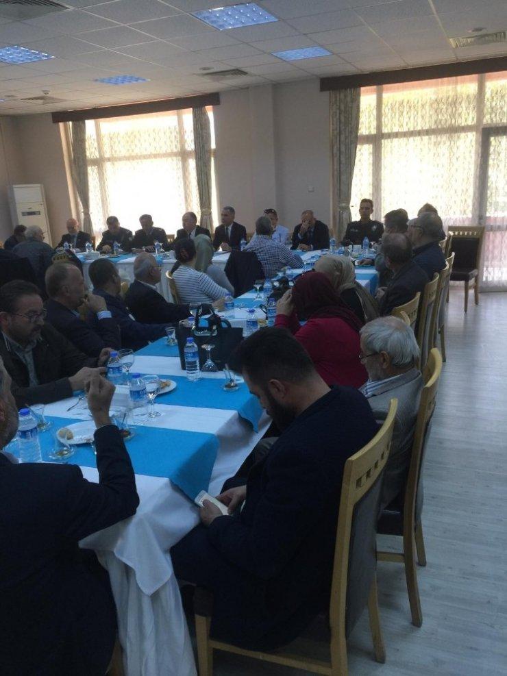 Isparta emniyetinden huzur toplantısı