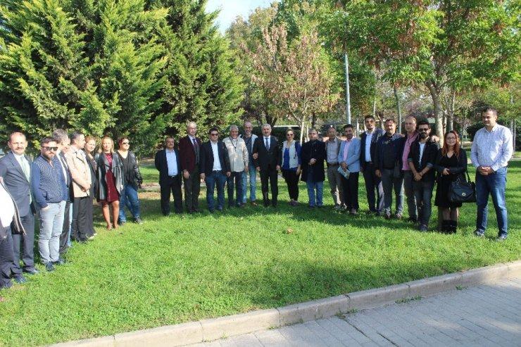 Körfez Belediye Başkanı İsmail Baran, projeleri hakkında bilgi verdi