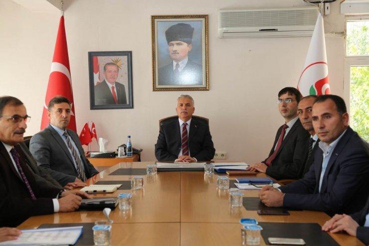 Muş'ta 'Yeni Sanayi Sitesi İstişare Toplantısı' yapıldı
