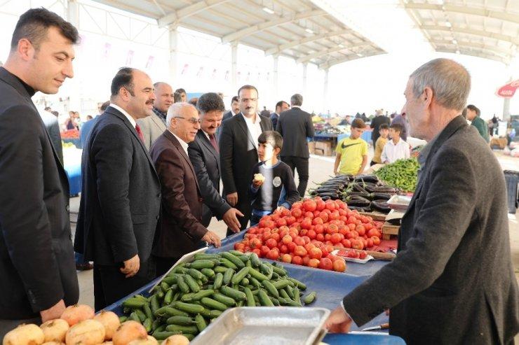 Sırrın Kapalı Semt pazarı açıldı