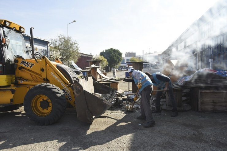 Tekkeköy sanayilerinde kapsamlı temizlik