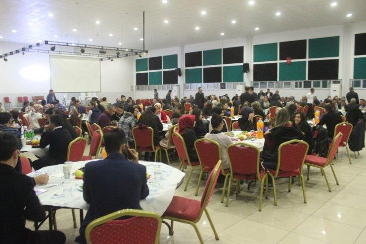 Yavuzeli İlçe Milli Eğitim Müdürü Alçık'a veda yemeği