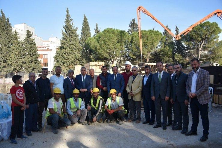 Muradiye Cumhuriyet İlkokulu'nun temeli törenle atıldı