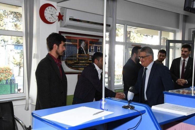 Vali Aykut Pekmez Albay Gürfidan ile bir araya geldi