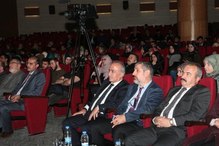 Atatürk Üniversitesi'nde Din Bilim ilişkisi ele alındı
