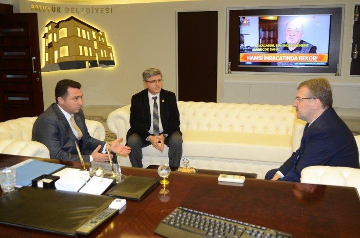 Bakan Yardımcısı Eldemir'den Başkan Bakıcı'ya ziyaret
