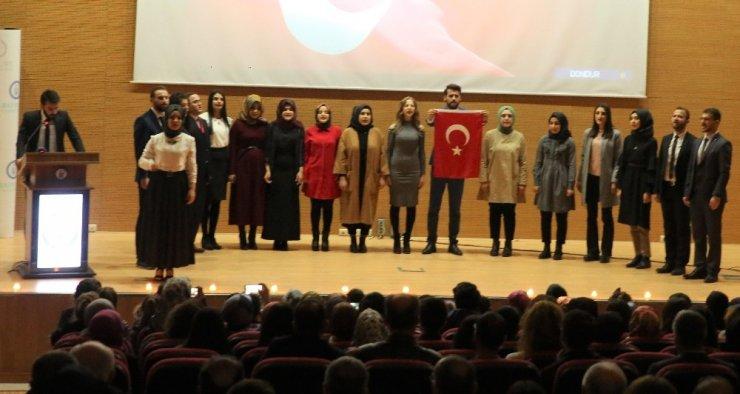 Eğitim Fakültesi'nden 'Öğretmenler Günü' etkinliği