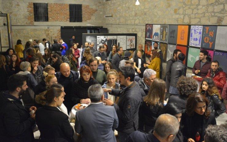29 ülkeden 90 sanatçı Troya için ÇOMÜ'de buluştu