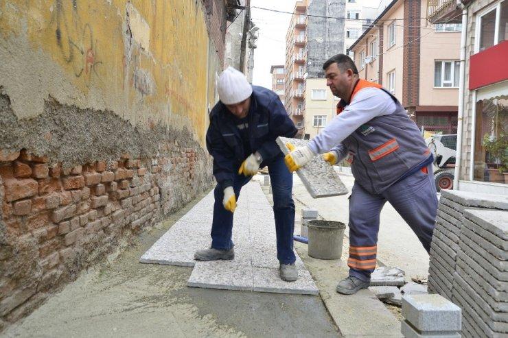 Tepebaşı'nda 5 mahallede eş zamanlı üst yapı çalışmaları