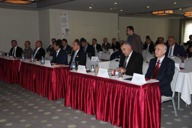 """Erzurum'da """"Milli Teknoloji Güçlü Sanayi Hamlesi Yolunda Sanayimizin Geleceği"""" adlı toplantı düzenlendi"""