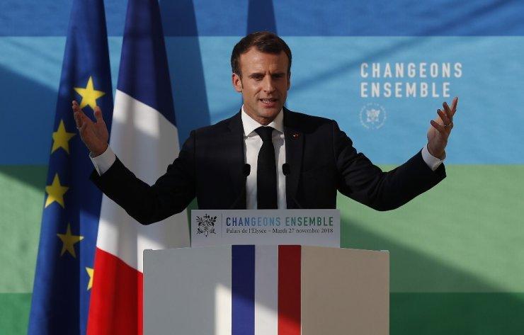 "Macron'dan ""Haydut"" benzetmesi"