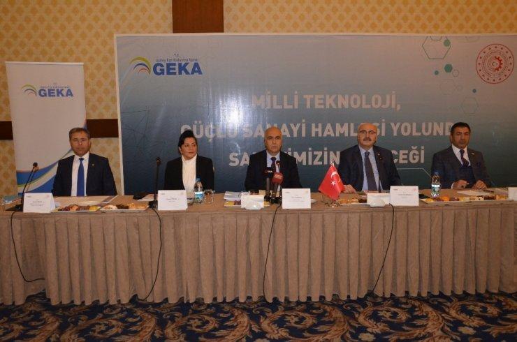 GEKA'da sanayinin geleceği masaya yatırıldı