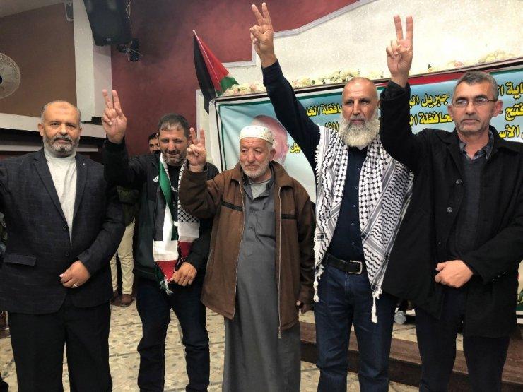 İsrail'in 30 yıl sonra serbest bıraktığı Filistinli için şenlik