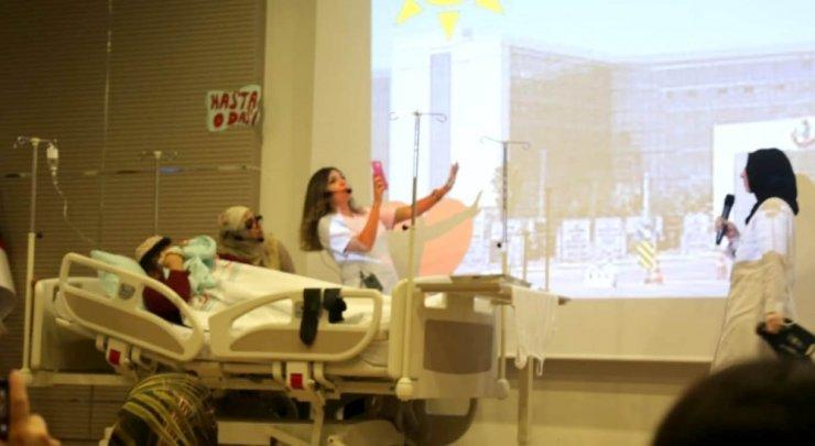 """""""Dünya Basınç Yarası Farkındalık Haftası""""Kayseri Şehir Hastanesi'nde kutlandı"""