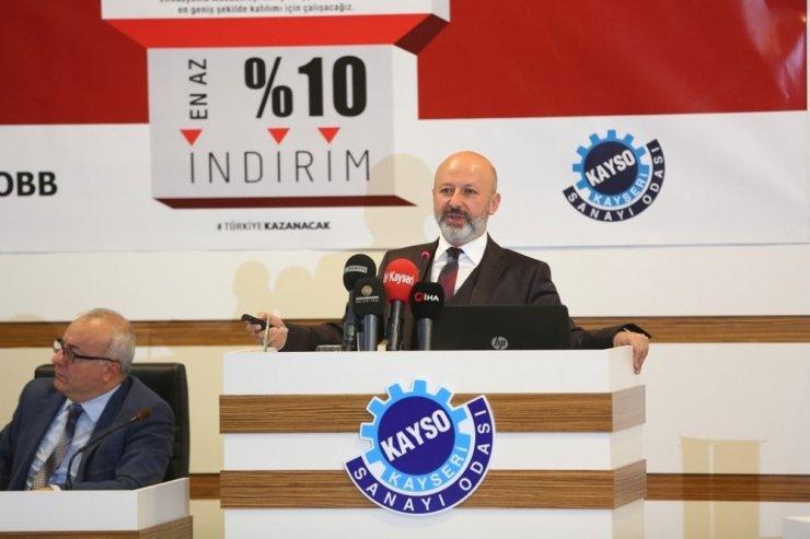 Başkan Çolakbayrakdar'dan sanayicilere çağrı