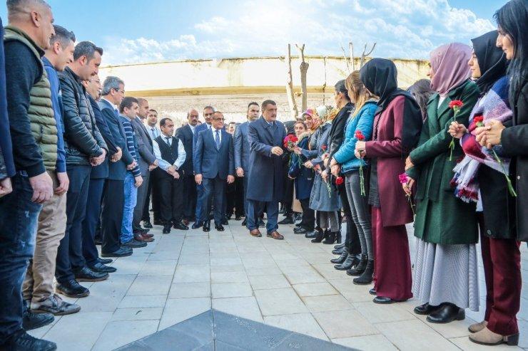 Belediye çalışanlarından Gürkan'a coşkulu karşılama