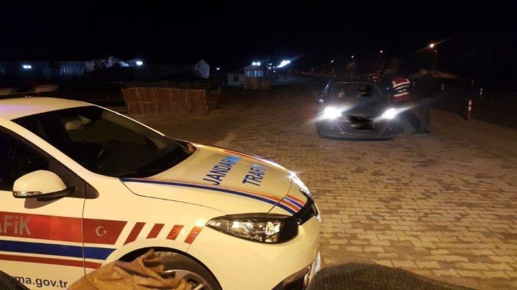 Malatya'da jandarmadan şok uygulama