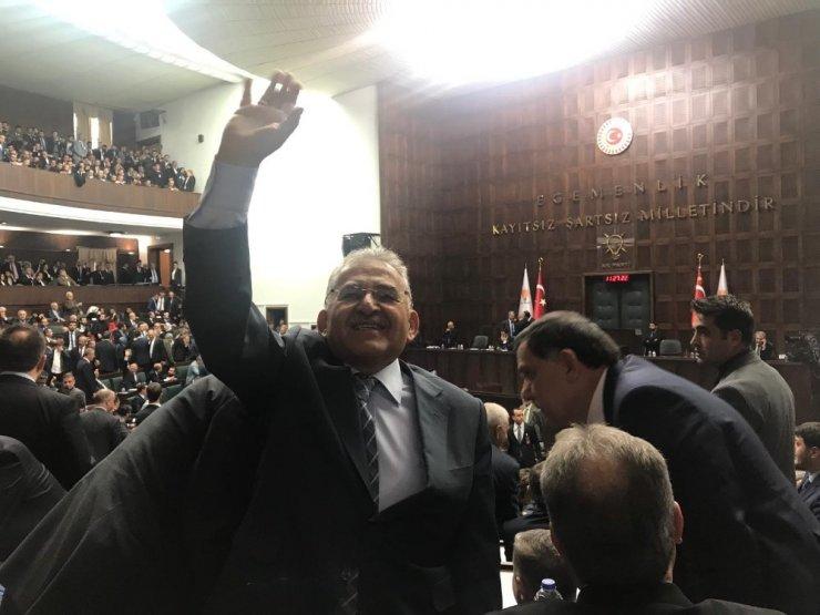 Başkan Memduh Büyükkılıç, Ankara'da