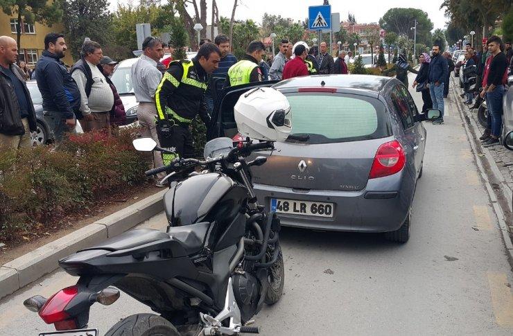 Milas'ta 'dur' ihtarına uymayan sürücü ortalığı birbirine kattı