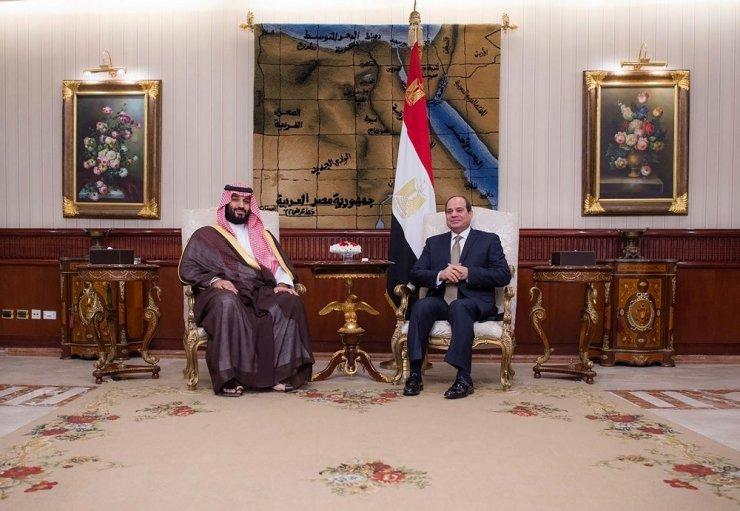 Suudi Veliaht Prens Selman, ziyaretinin üçüncü durağı Mısır'da