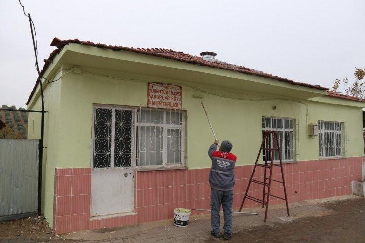 Turgutlu'da kırsal mahallelerin eksiklikleri gideriliyor