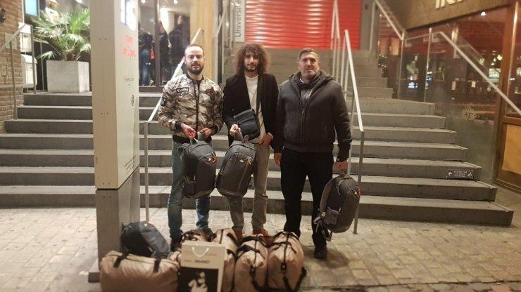 Belçika'da evsizlere Müslümanlardan yardım eli