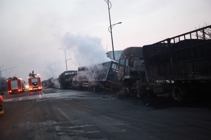 Çin'de kimyasal fabrikada patlama: 22 ölü