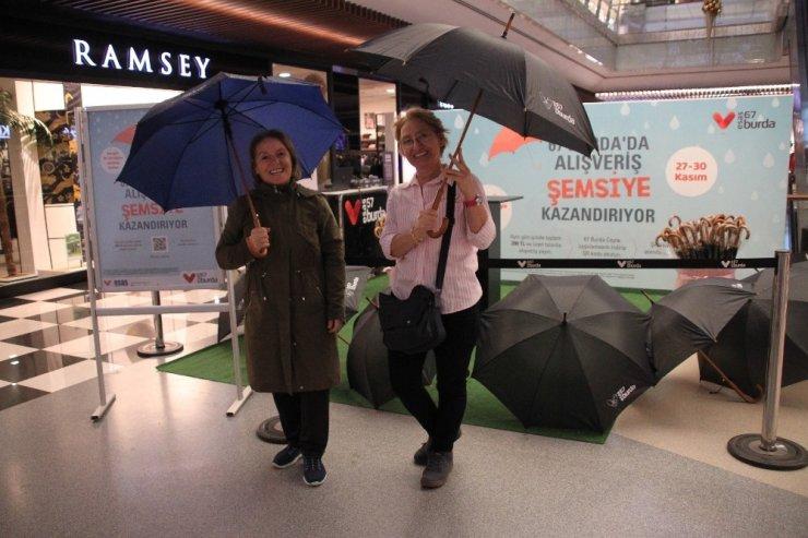 Esas 67 Burda'dan şemsiye kampanyası