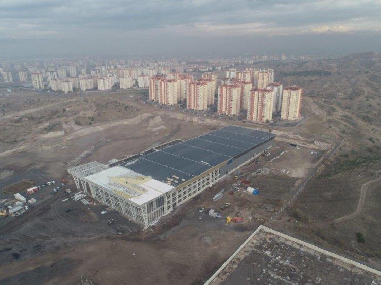 Kayseri Uluslararası Fuar ve Kongre Merkezi İnşaat Çalışmaları Hızla Devam Ediyor