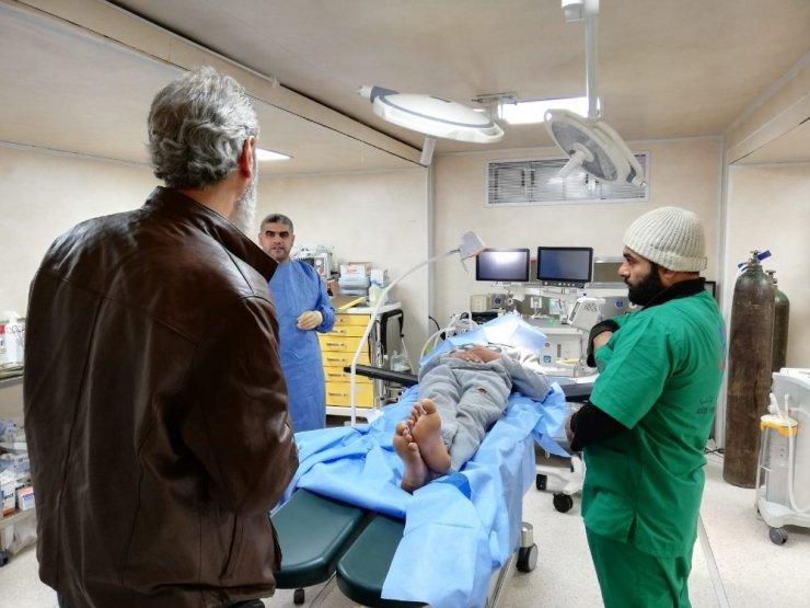 İHH, İdlib'deki hastanelerin ihtiyaçlarını belirledi