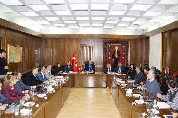 Aydın'da 'maden' konulu KUSİ toplantısı yapıldı