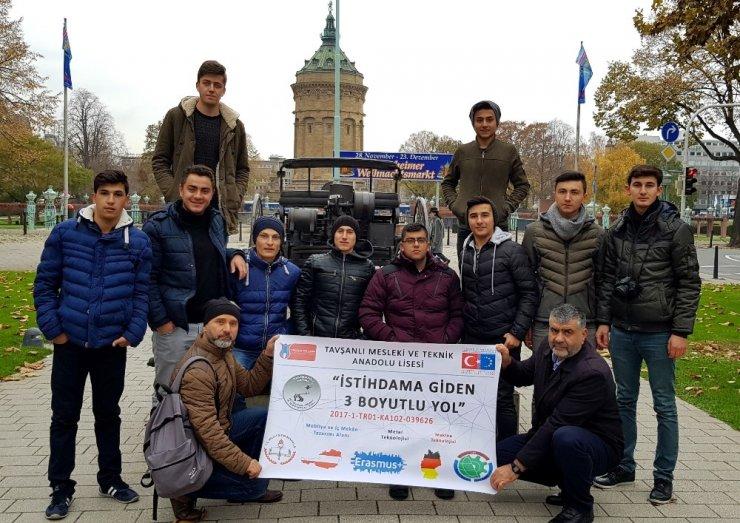 Kütahyalı öğrenciler staj için Almanya'da