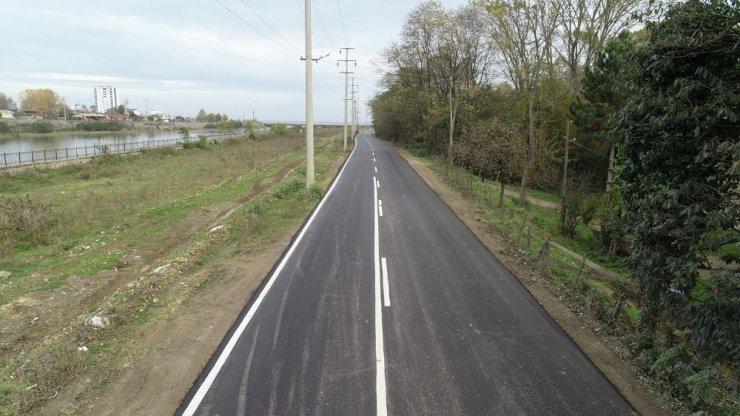 Fatsa OSB sıcak asfalta kavuştu
