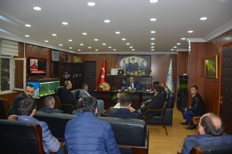 Maden işçilerinden Başkan Demirtaş'a destek