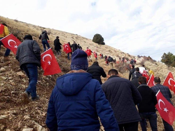 Beypazarı'nda şehitlere saygı ve bayrak yürüyüşü yapılacak