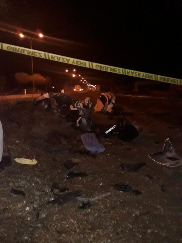 Konya'da otomobil ağaca çarptı, Fatma öğretmen yaşamını yitirdi