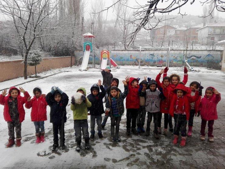 Bursa'da kar tatili