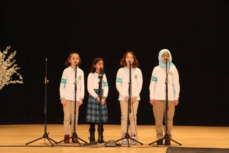 Biga'da Genç Sesler Musiki Yarışması yapıldı