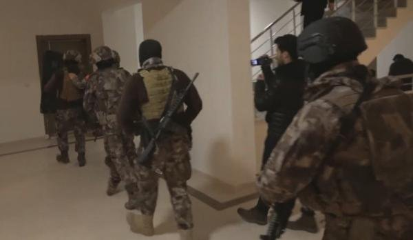 Gaziantep'te 'Kaçanlar Grubu'na operasyon: 17 tutuklama
